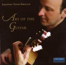 Art of the Guitare - CD Audio di Johannes Tonio Kreusch