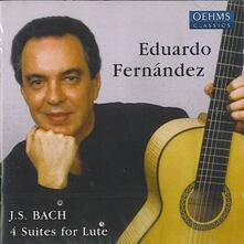 4 Suites for Lute - CD Audio di Johann Sebastian Bach