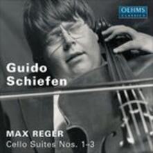 Suiten Vuer Cello 1 - 3 - CD Audio di Max Reger