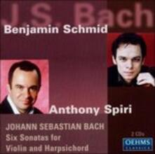 Sonate for Violin & Harp - CD Audio di Johann Sebastian Bach