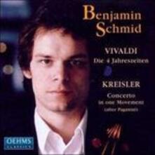 Le quattro stagioni - CD Audio di Antonio Vivaldi