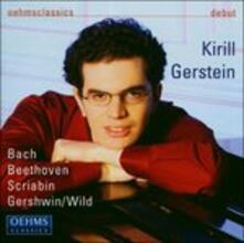 Sonata per Pianoforte op.10 No. 1 - CD Audio di Kirill Gerstein