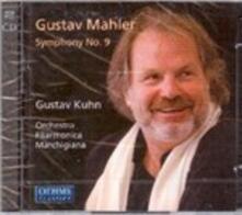 Sinfonia N.9 - CD Audio di Gustav Mahler,Gustav Kuhn,Orchestra Filarmonica Marchigiana