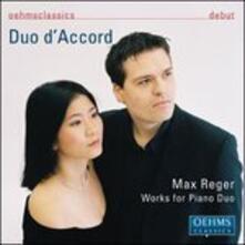 Works for Piano Duo - CD Audio di Max Reger