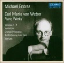 Sonate per Pianoforte 1 - 4 - CD Audio di Carl Maria Von Weber