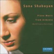Piano Music from Armenia - CD Audio