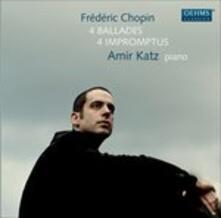 4 Ballades - 4 Impromptus - CD Audio di Fryderyk Franciszek Chopin