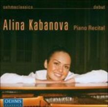 Piano Recital - CD Audio di Johann Sebastian Bach,Ludwig van Beethoven