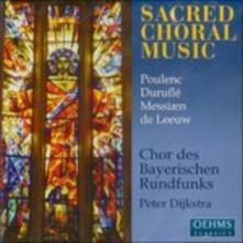 Sacred Choral Music - CD Audio