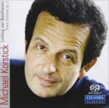 Sonate per Pianoforte op.2 No. 1 - 3 - SuperAudio CD di Ludwig van Beethoven