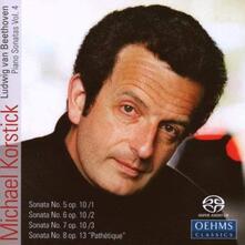 Sonate per Pianoforte 4 - SuperAudio CD di Ludwig van Beethoven