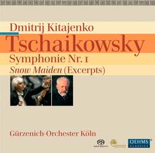 Sinfonia n.1 in G Min - - SuperAudio CD di Pyotr Ilyich Tchaikovsky
