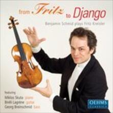 From Fritz to Django - CD Audio di Fritz Kreisler