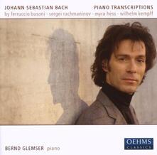 Piano Transcriptions - CD Audio di Bernd Glemser