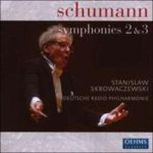 Sinfonie n.2, n.3 - CD Audio di Robert Schumann