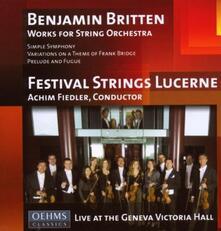 Works for String - CD Audio di Benjamin Britten