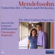 Concertos for 2 Pianos & - CD Audio di Felix Mendelssohn-Bartholdy