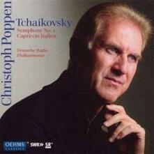 Sinfonia n.1 - Capriccio I - CD Audio di Pyotr Ilyich Tchaikovsky