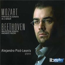 Fantasie Kv475-Sonate Kv4 - CD Audio di Ludwig van Beethoven,Wolfgang Amadeus Mozart