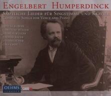 Complete Songs for Voice - CD Audio di Engelbert Humperdinck