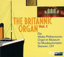Britannic Organ Vol.1 - CD Audio di Ludwig van Beethoven,Edvard Grieg,Wolfgang Amadeus Mozart