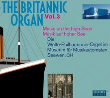 Britannic Organ vol.3 - CD Audio