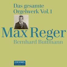 Gesamtes Orgelwerk 1 - CD Audio di Max Reger