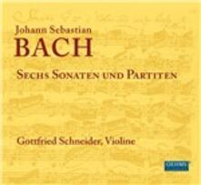 Sechs Sonaten Und - CD Audio di Johann Sebastian Bach