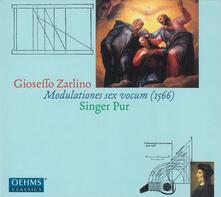 Zarlinomodulations Vocum - CD Audio di Singer Pur