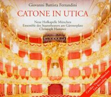 Catone in Utica - CD Audio di Giovanni Battista Ferrandini