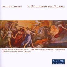 Il Nascimento Dell'aurora - CD Audio di Tomaso Giovanni Albinoni