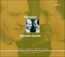The Last Recital - Sonata Kv 377, Variazioni Kv 360 - CD Audio di Ludwig van Beethoven,Wolfgang Amadeus Mozart,Franz Schubert,Paul Badura-Skoda