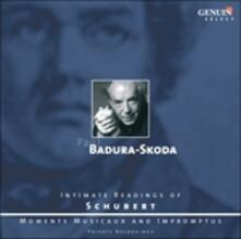 Intimate Readings of Schubert - CD Audio di Franz Schubert,Paul Badura-Skoda