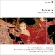 Zarzuela - Spanish Arias - CD Audio di Noemi Nadelmann