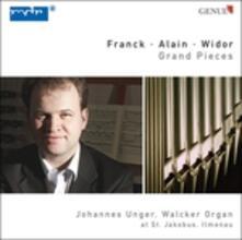 Pezzo per Grande Organo - CD Audio di César Franck,Johannes Unger