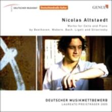 Opere per Violoncello e Pianoforte - CD Audio di Nicolas Altstaedt