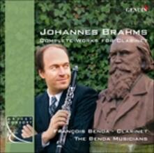 Musica completa per clarinetto - CD Audio di Johannes Brahms