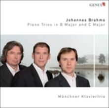 Trii con pianoforte in Si, in Do - CD Audio di Johannes Brahms