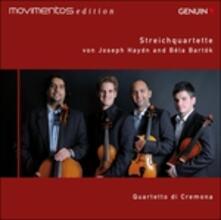 Quartetti op.54 n.2, op.77 n.1 / Quartetto n.4 - CD Audio di Franz Joseph Haydn,Bela Bartok,Quartetto di Cremona