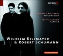 5 Romanze - 8 Bagatelle / 3 Romanze - 5 Pezzi in stile popolare - CD Audio di Robert Schumann,Wilhelm Killmayer,José Gallardo,Nicolas Altstaedt