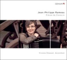 Pièces de clavecin - CD Audio di Jean-Philippe Rameau,Viviane Chassot