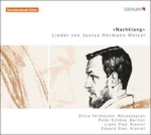 Lieder von Justus Hermann Wetzel - CD Audio di Justus Hermann Wetzel,Olivia Vermeulen