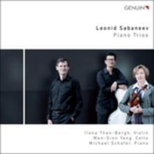 Trii con pianoforte - CD Audio di Leonid Sabaneev