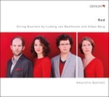 Red - Quartetto per Archi Op.3 - CD Audio di Alban Berg
