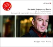 Between Heaven and Earth vol.1 - CD Audio di Franz Schubert,Filippo Faes