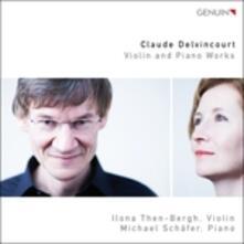 Sonata per Violino e Pianoforte - Boccacerie - Danceries - Contemplation - CD Audio di Claude Delvincourt