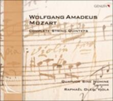 Quintetti per archi completi - CD Audio di Wolfgang Amadeus Mozart