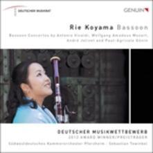 Bassoon - CD Audio di Rie Koyama