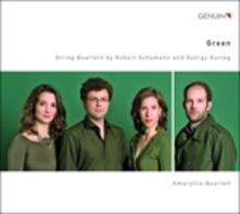 Quartetti per archi op.40 n.1, n.3 - CD Audio di Robert Schumann
