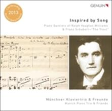 Inspired by Song. Quintetti con pianoforte - CD Audio di Franz Schubert,Ralph Vaughan Williams